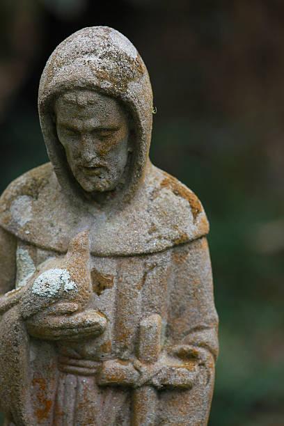 Saint Francis stock photo