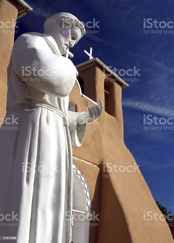 Saint Francis royalty-free stock photo