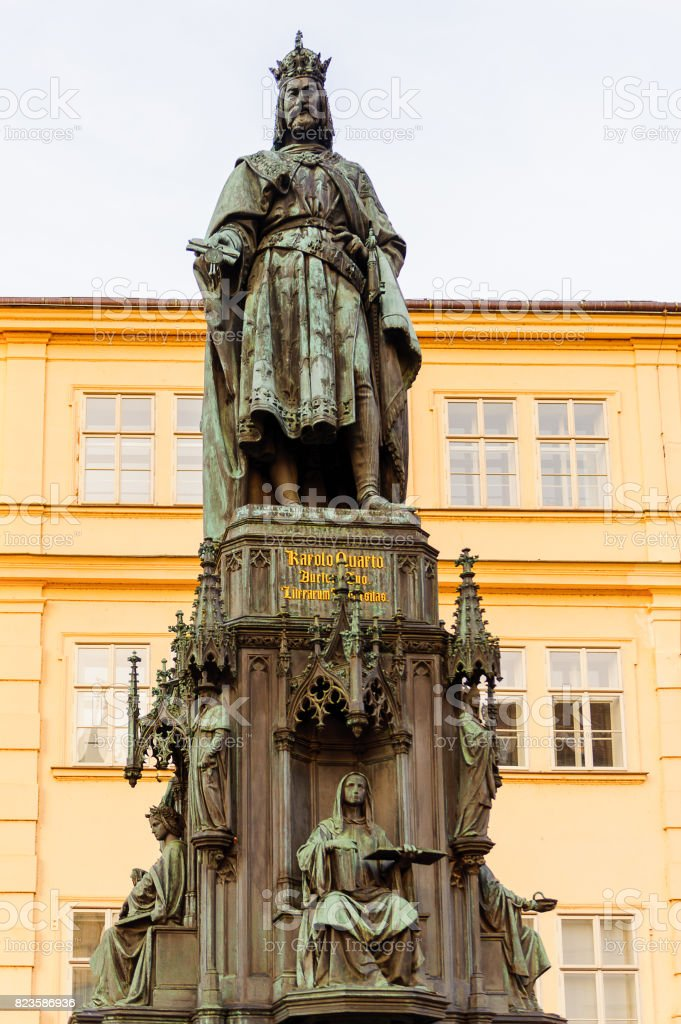 Saint Frantisek, Prague, Czech Republic stock photo