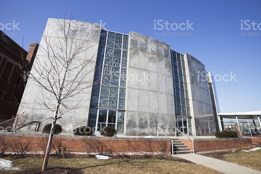 Saint Gall Catholic Church in Chicago royalty-free stock photo