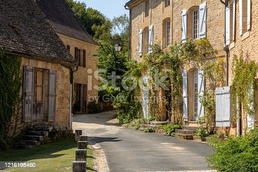 istock Saint Genies is a lovely  village in Perigord, Dordogne, France 1216198460