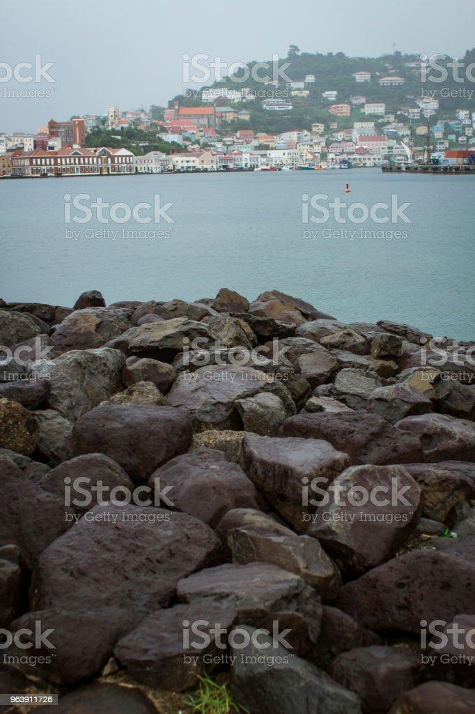 Saint George Grenada - Royalty-free Beach Stock Photo