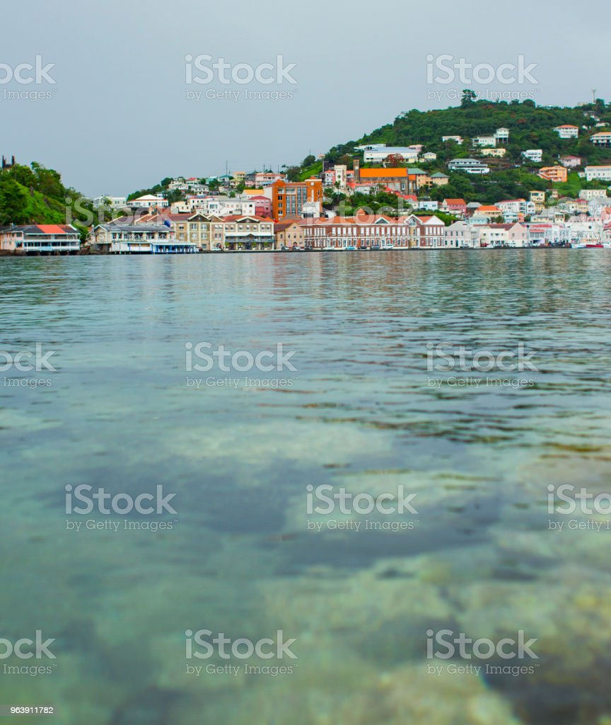 Saint George, Grenada stock photo