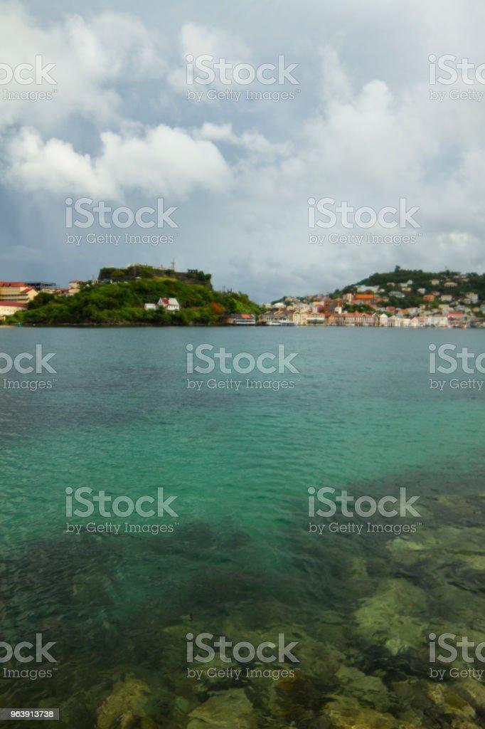 Saint George, Grenada - Royalty-free Blue Stock Photo