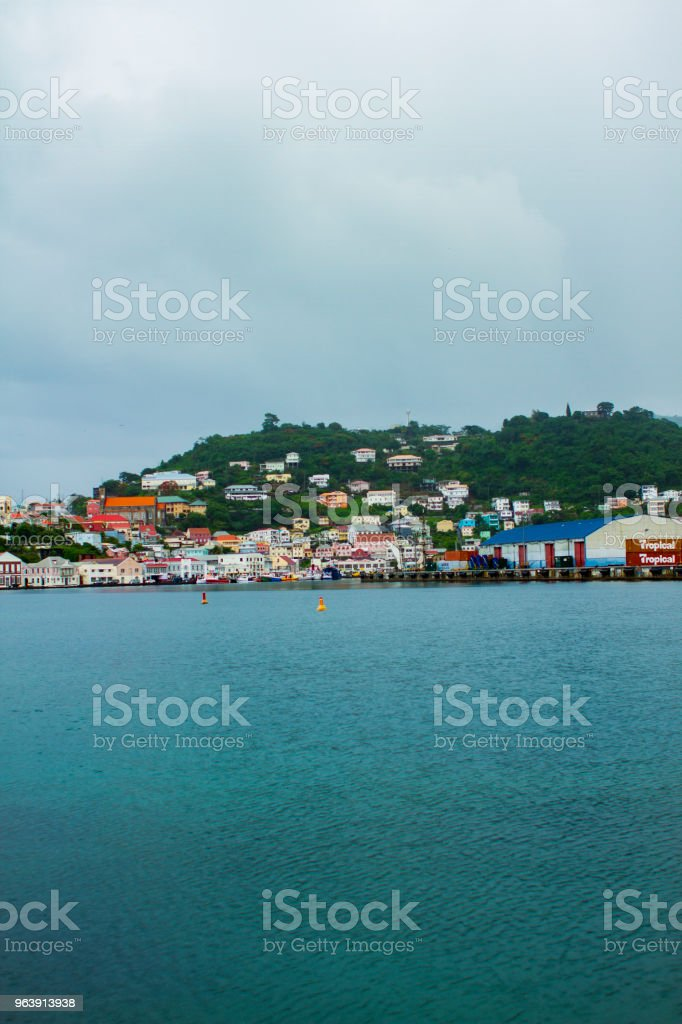 Saint George Grenada stock photo
