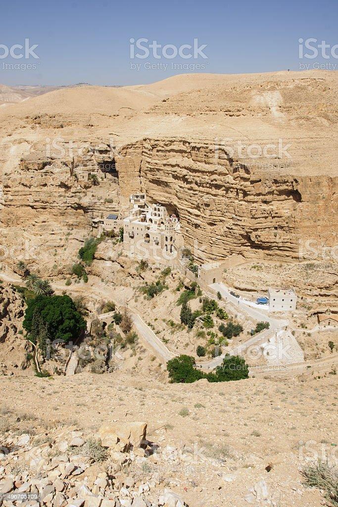 Saint George Monastery royalty-free stock photo