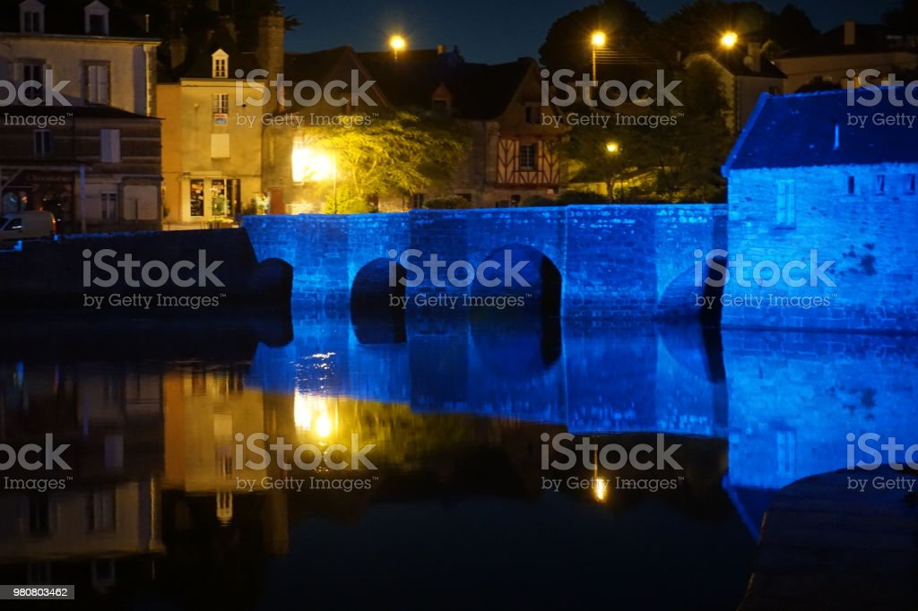 Nuit de la Saint Goustan - foto de stock