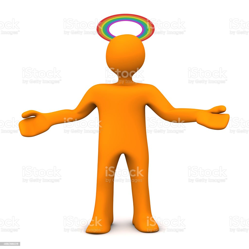 Saint Homosexually stock photo