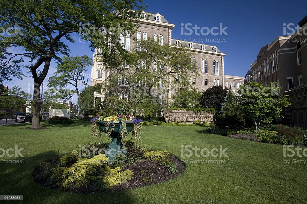 Saint Ignatius College Prep School stock photo