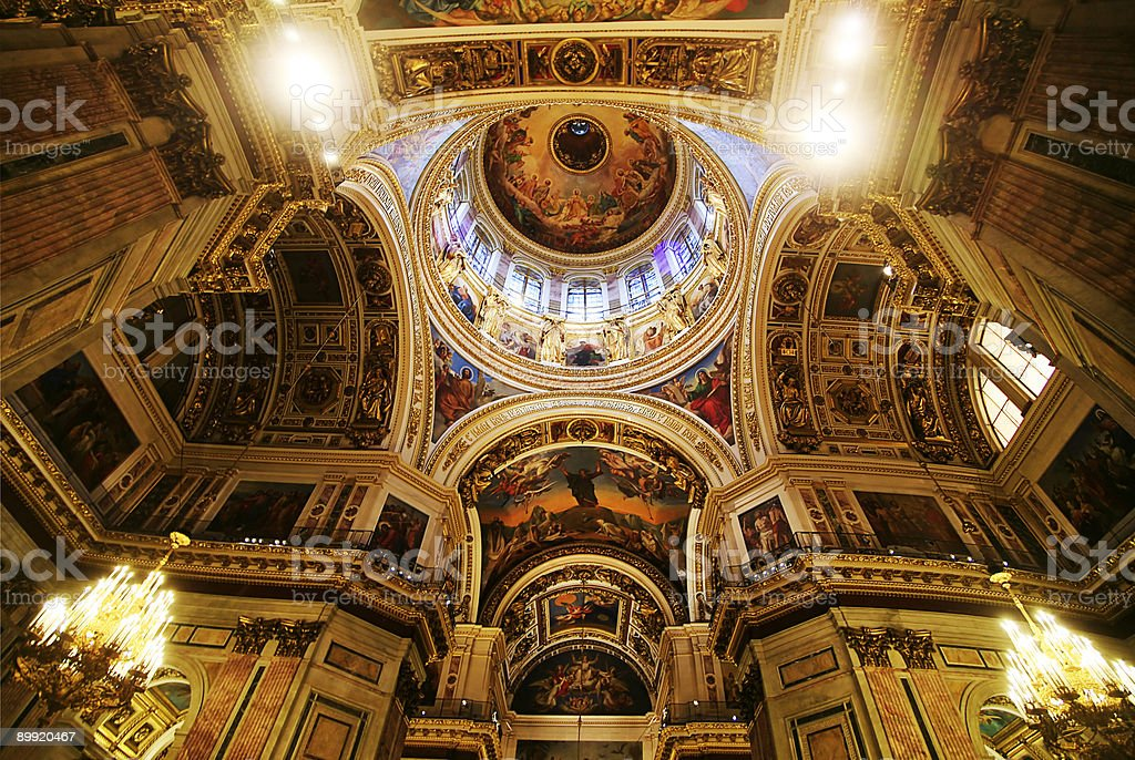 Saint Isaak Cathedral. royalty-free stock photo