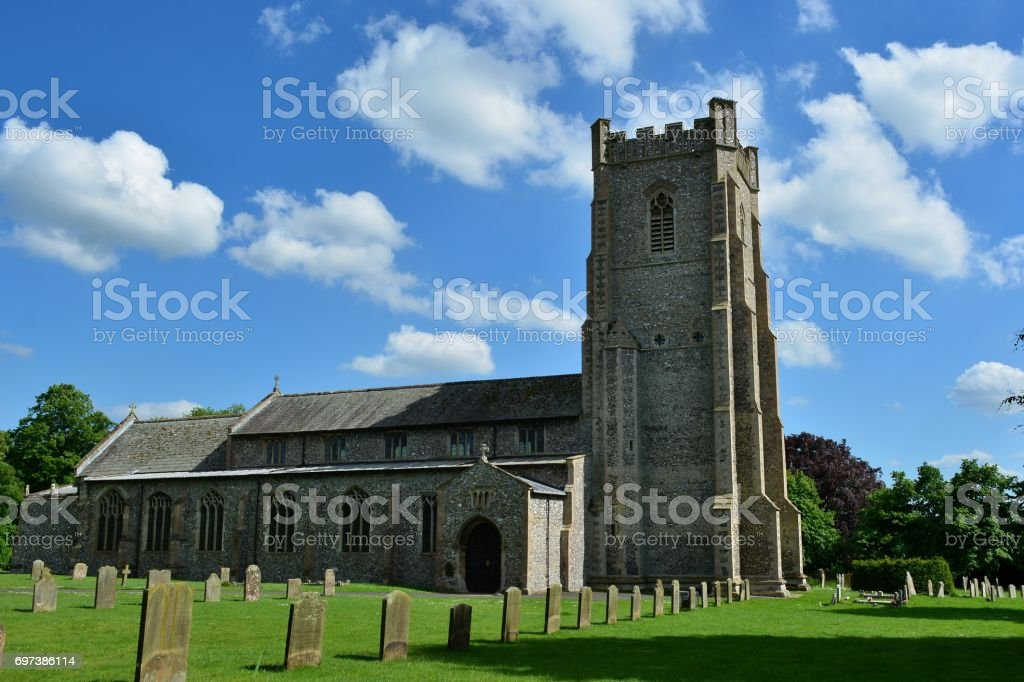 Igreja de Saint James, Acre do castelo, Norfolk - foto de acervo