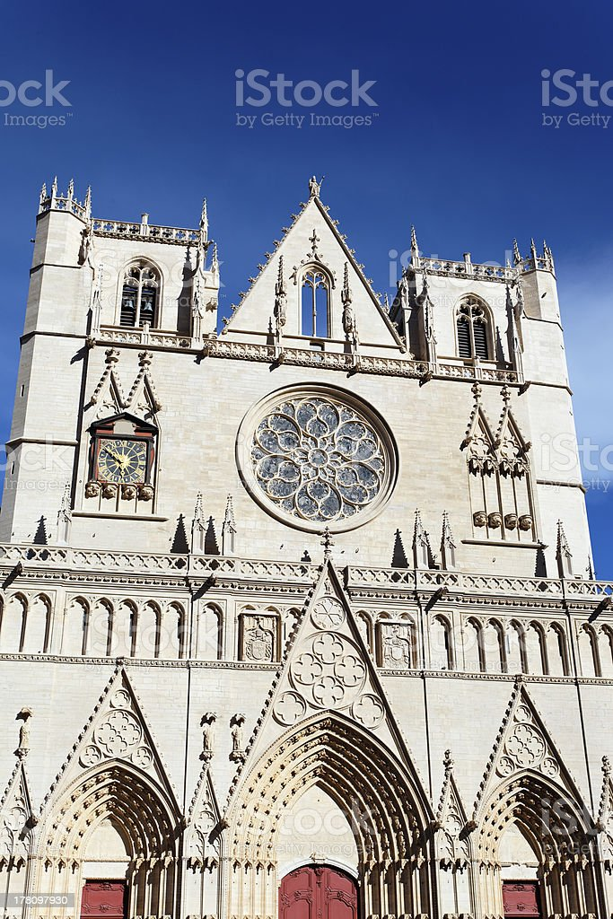 Saint Jean cathedral stock photo