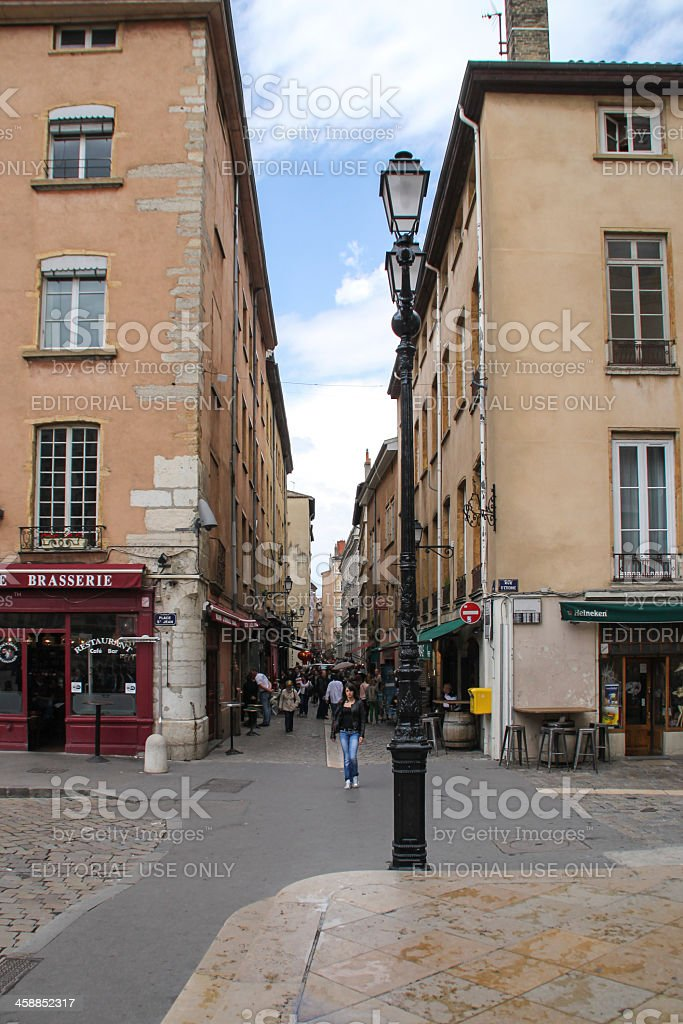 Saint-Jean Street à Lyon, France - Photo