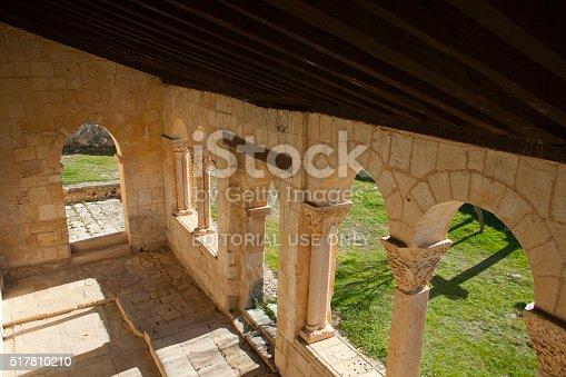 istock Saint John Baptist church romanesque columns 517810210