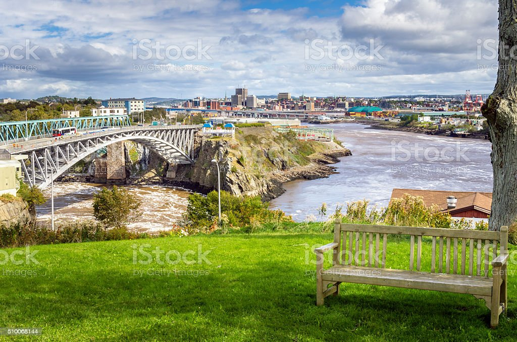 Saint John, New Brunswick stock photo