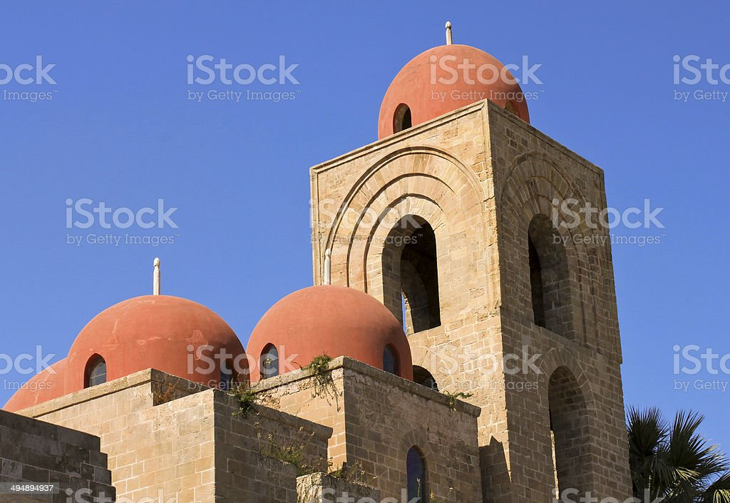 San Giovanni degli Eremiti stock photo