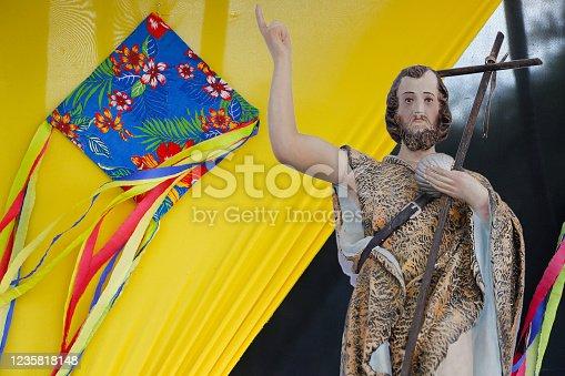 istock Saint John the Baptist of the Catholic Church 1235818148