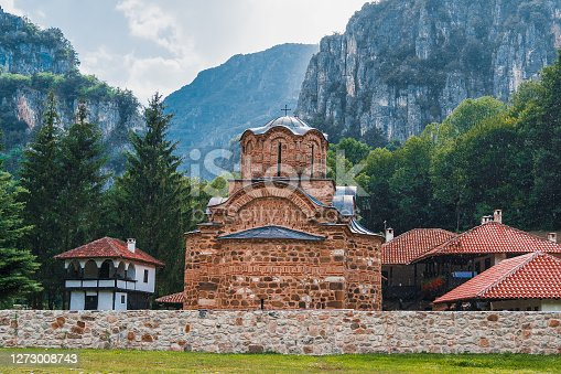 Saint John the Evangelist Monastery near Poganovo village, Serbia