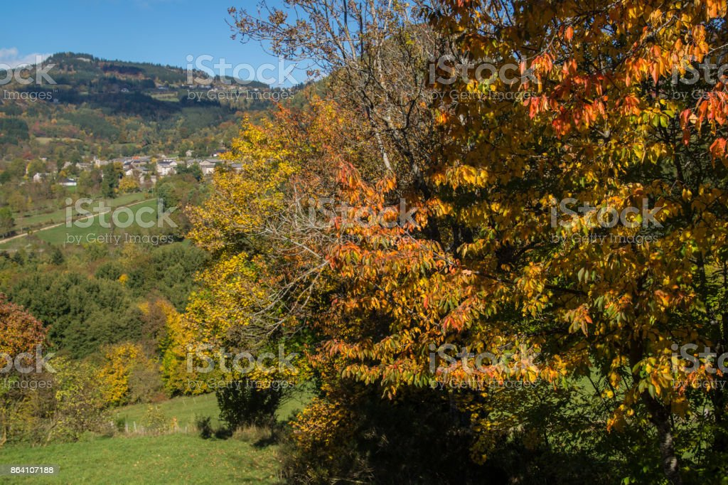 saint julien chapteuil,haute loire,auvergne,france royalty-free stock photo