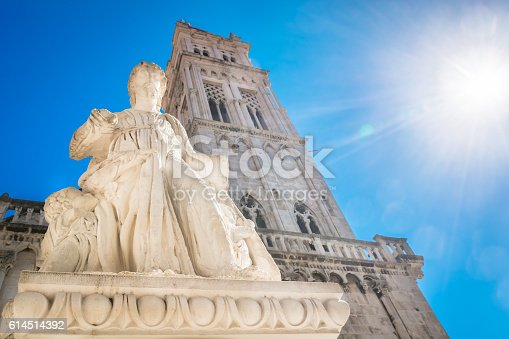 istock Saint Lawrence cathedral Trogir. 614514392