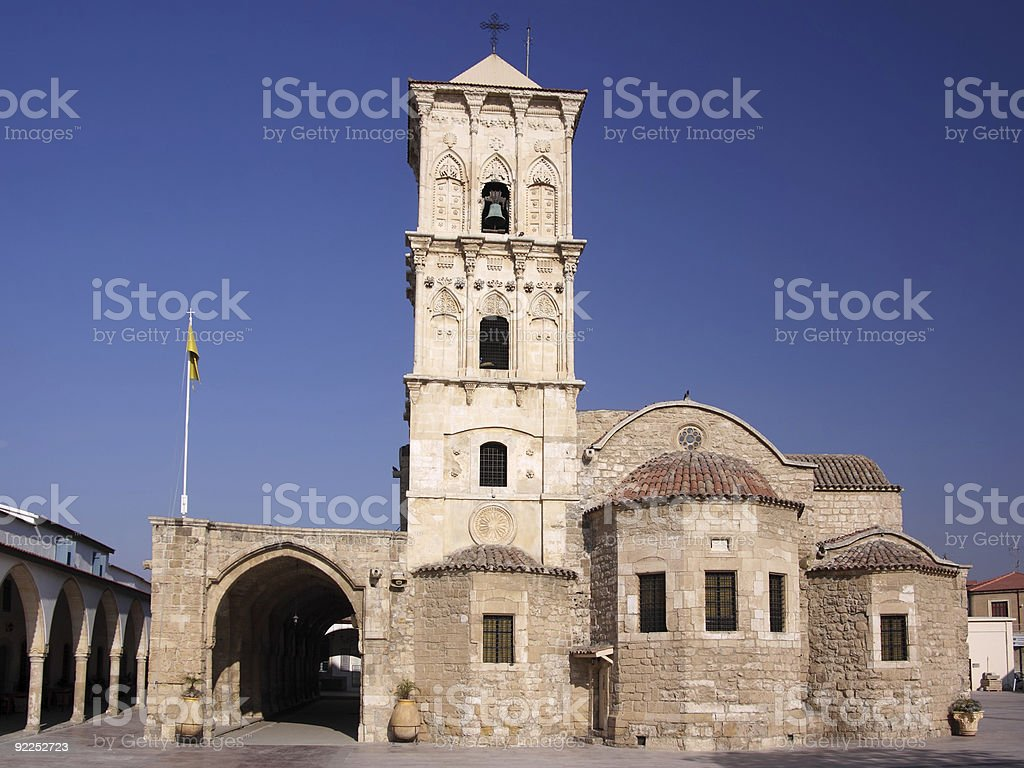 Saint Lazarus, Larnaca stock photo