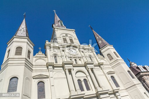 564604962 istock photo Saint Louis Cathedral in New Orleans 655413718