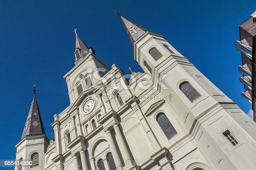 564604962 istock photo Saint Louis Cathedral in New Orleans 655414330