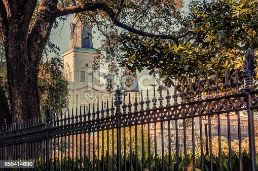 564604962 istock photo Saint Louis Cathedral in New Orleans 655414690