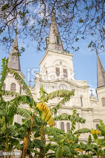 564604962 istock photo Saint Louis Cathedral in New Orleans 882447958