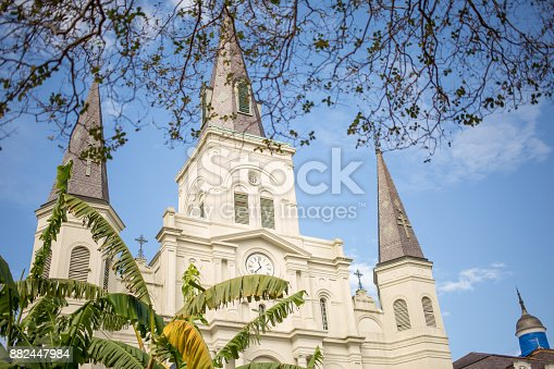 564604962 istock photo Saint Louis Cathedral in New Orleans 882447984