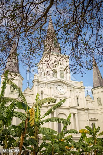 564604962 istock photo Saint Louis Cathedral in New Orleans 882447988