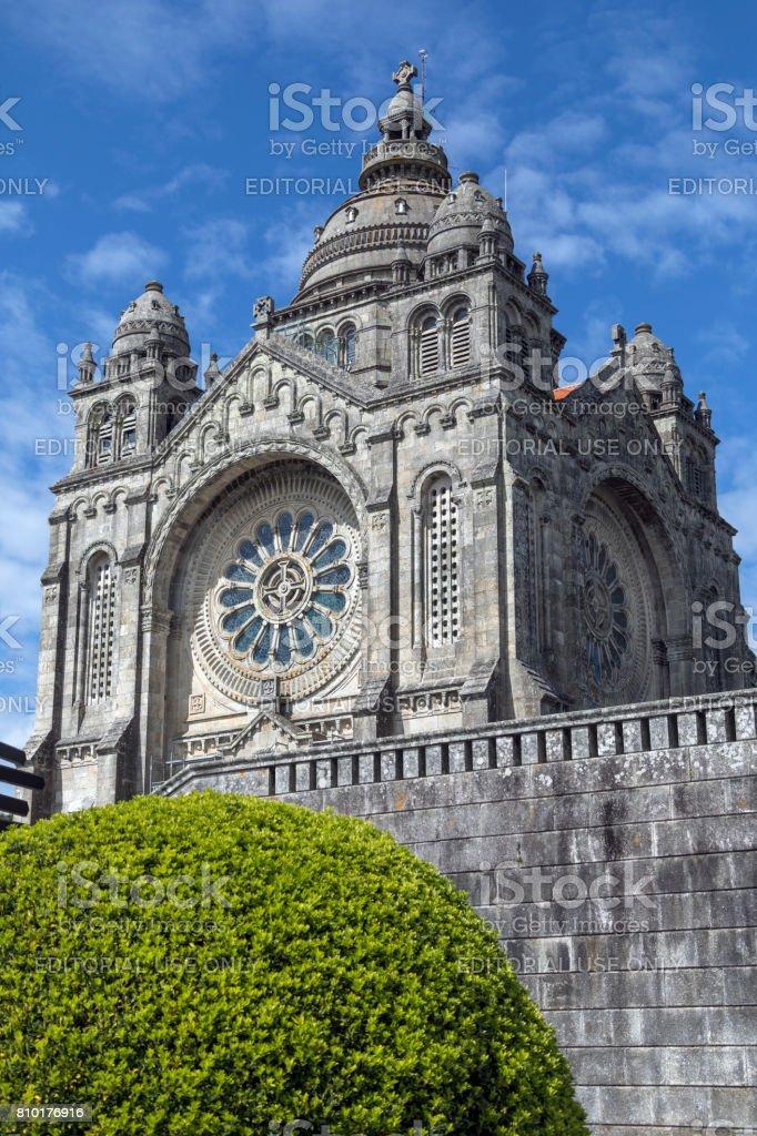 Saint Lucia Basilica - Viana do Castelo - Portugal stock photo