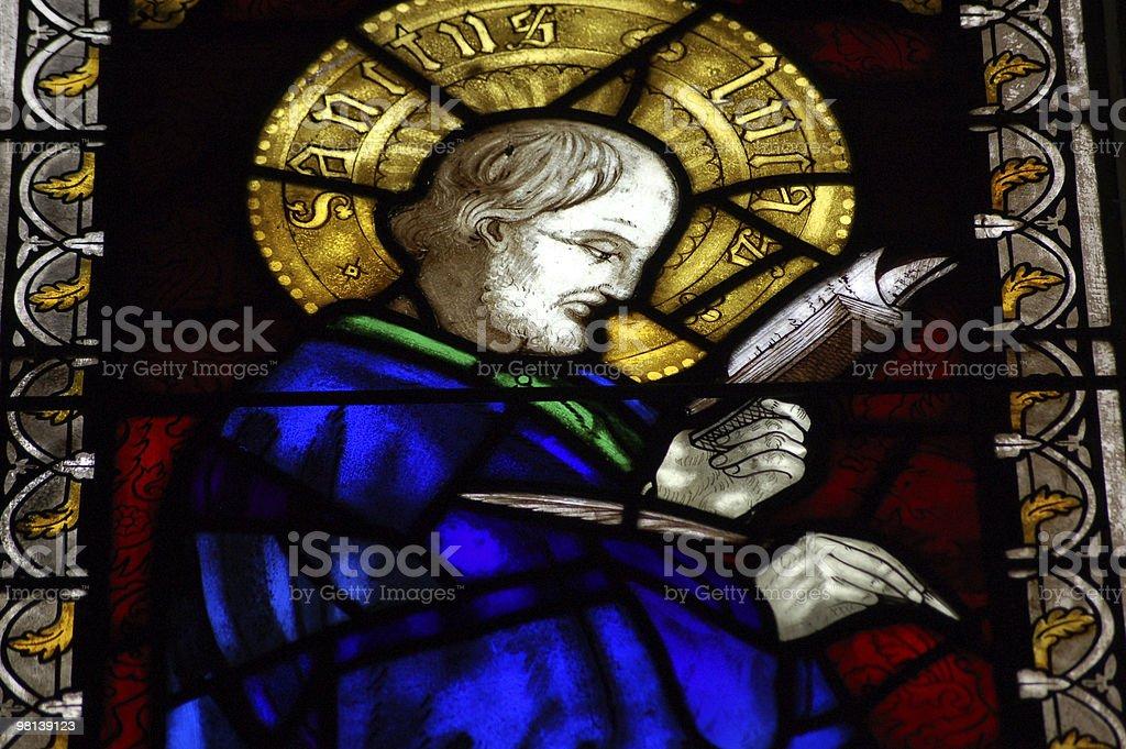 Saint Luke royalty-free stock photo