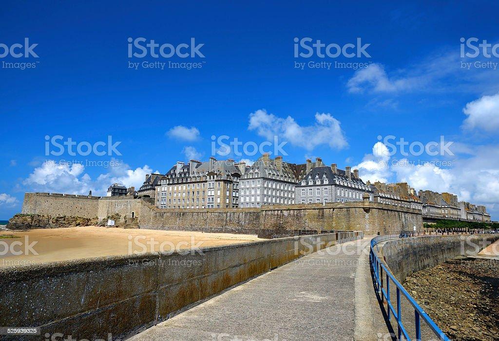 Saint Malo stock photo