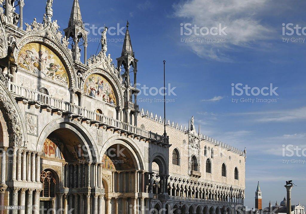 Saint Mark cathedral stock photo