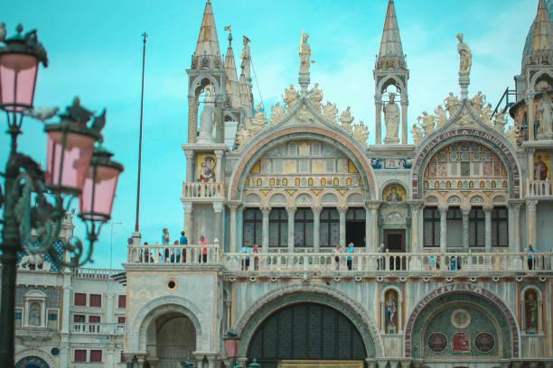 Saint Mark's Basilica stock photo