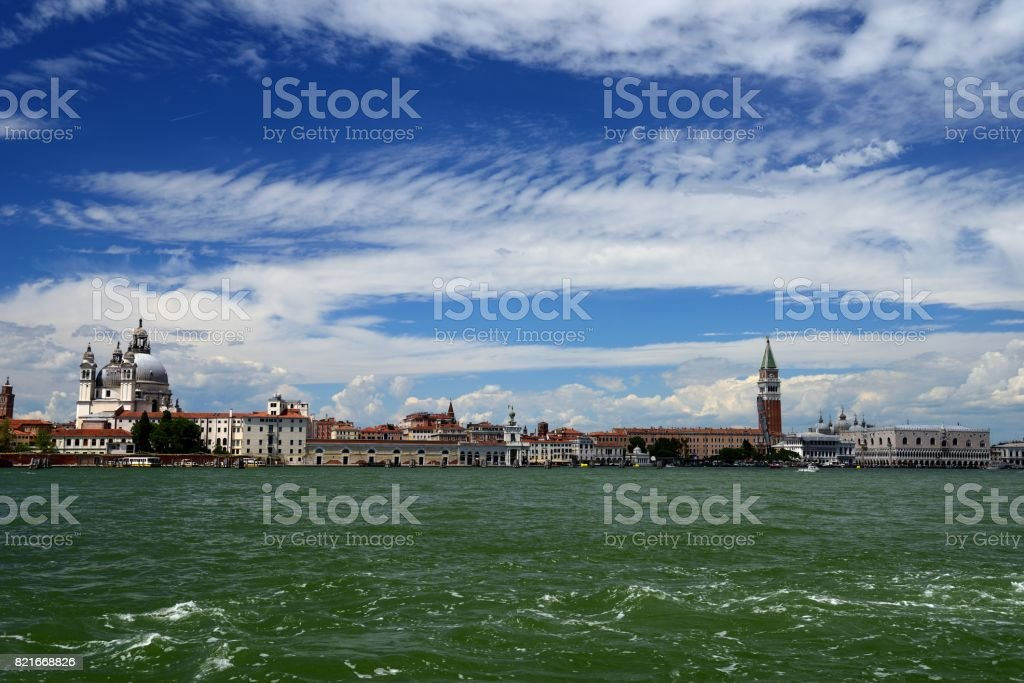 Saint Mark's Basin Venice stock photo