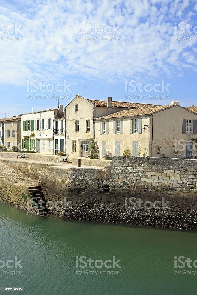 Saint Martin de Ré royalty-free stock photo