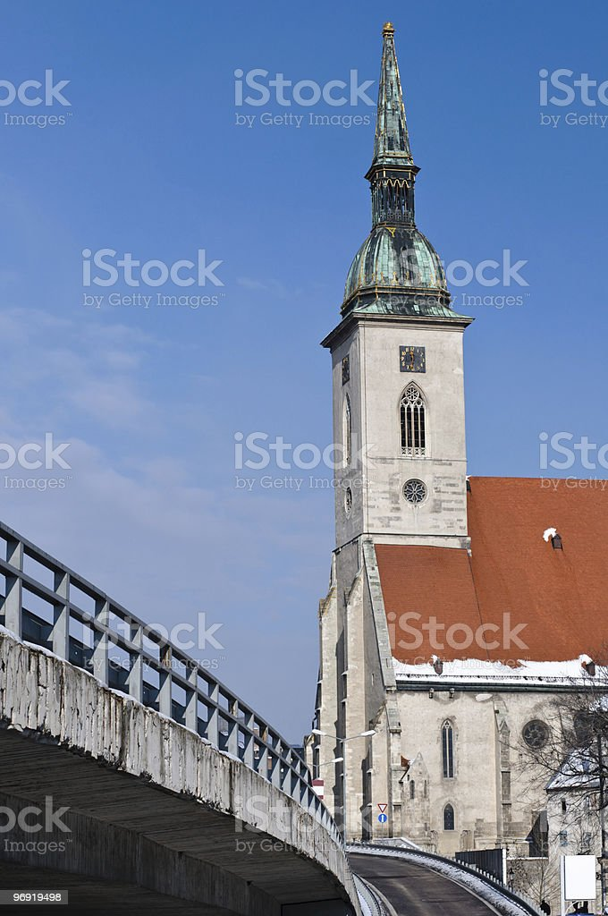Saint Martin's Cathedral royalty-free stock photo
