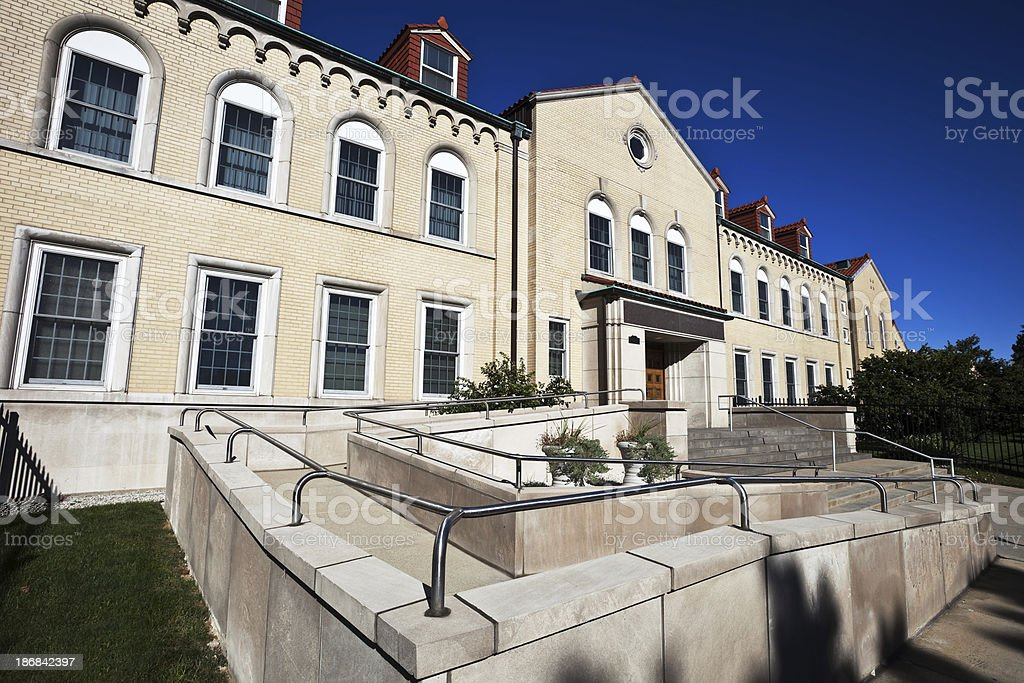 Saint Mary of Providence Convent in Portage Park, Chicago royalty-free stock photo