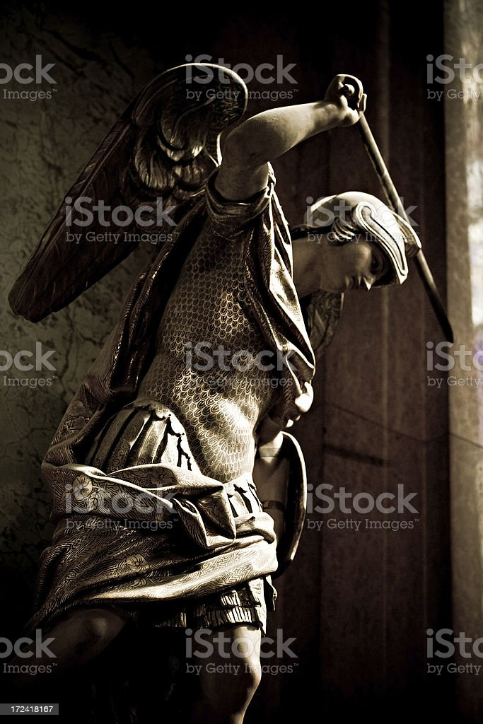 saint michael royalty-free stock photo