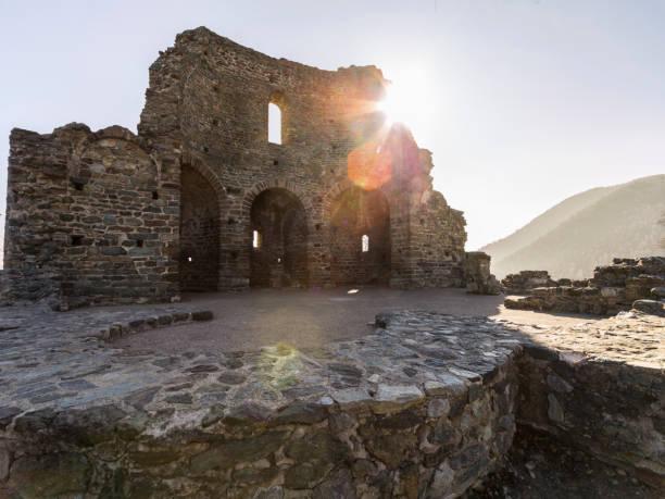 Saint Michael's Abbey (Piedmont, Italy) - foto stock