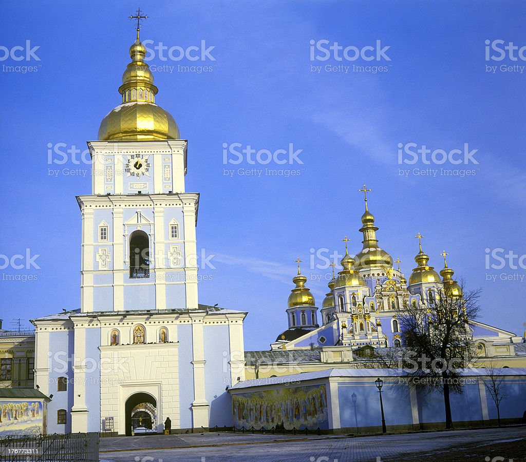 Saint Michael's Cathedral. royalty-free stock photo