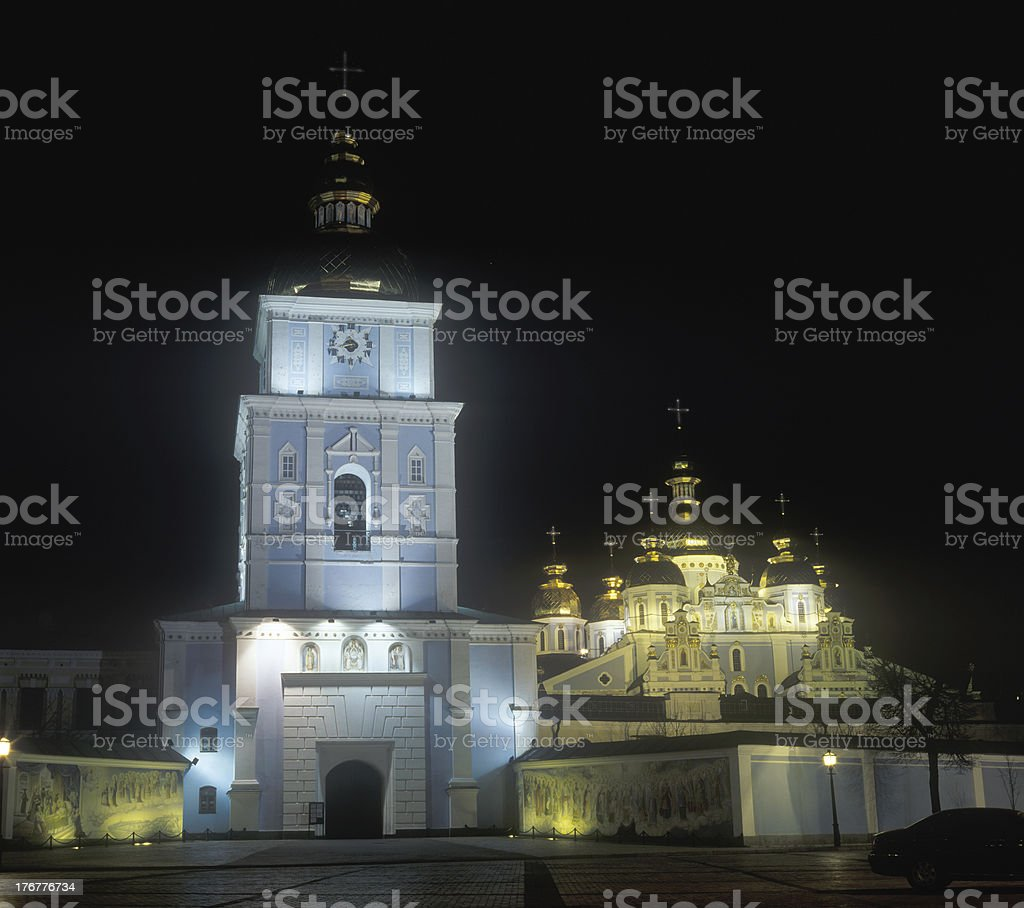 Saint Michael's Cathedral royalty-free stock photo