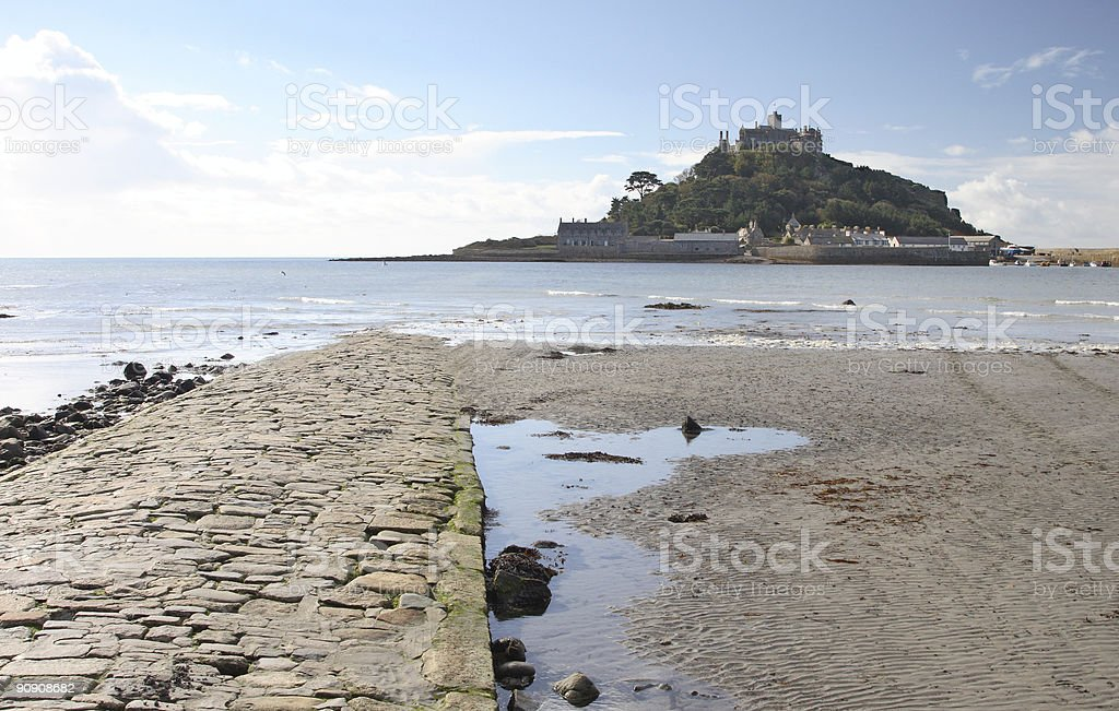 Saint Michael's Mount, Cornwall, England stock photo