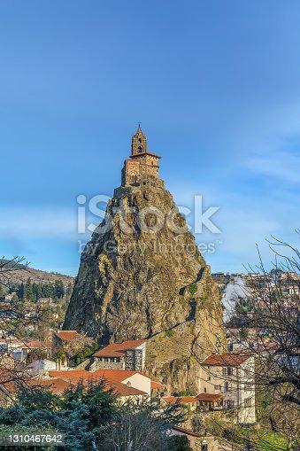 istock Saint Michel d'Aiguilhe, Le Puy-en-Velay, France 1310467642