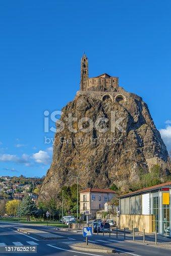 istock Saint Michel d'Aiguilhe, Le Puy-en-Velay, France 1317625212