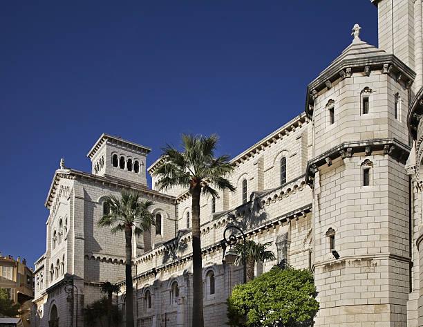 La cathédrale Saint-Nicolas de Monaco-Ville. Principauté de Monaco - Photo