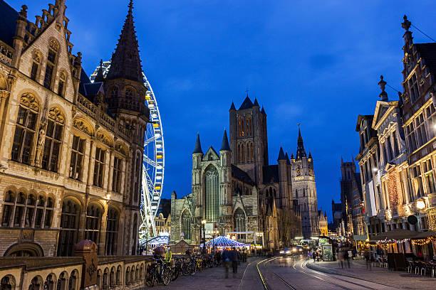Saint Nicholas'Kirche in Gent in Belgien – Foto