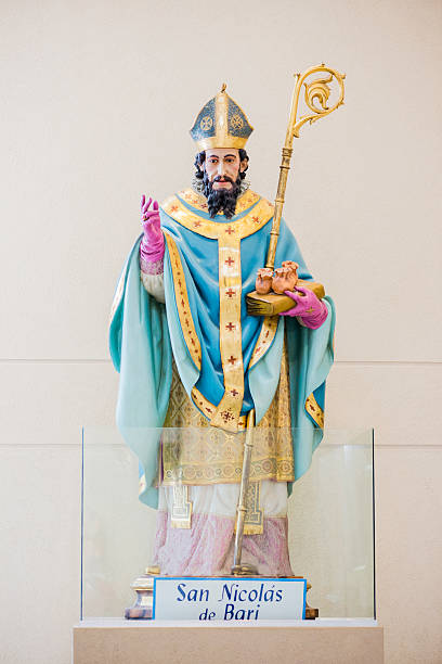 Saint Nicholas of Bari stock photo